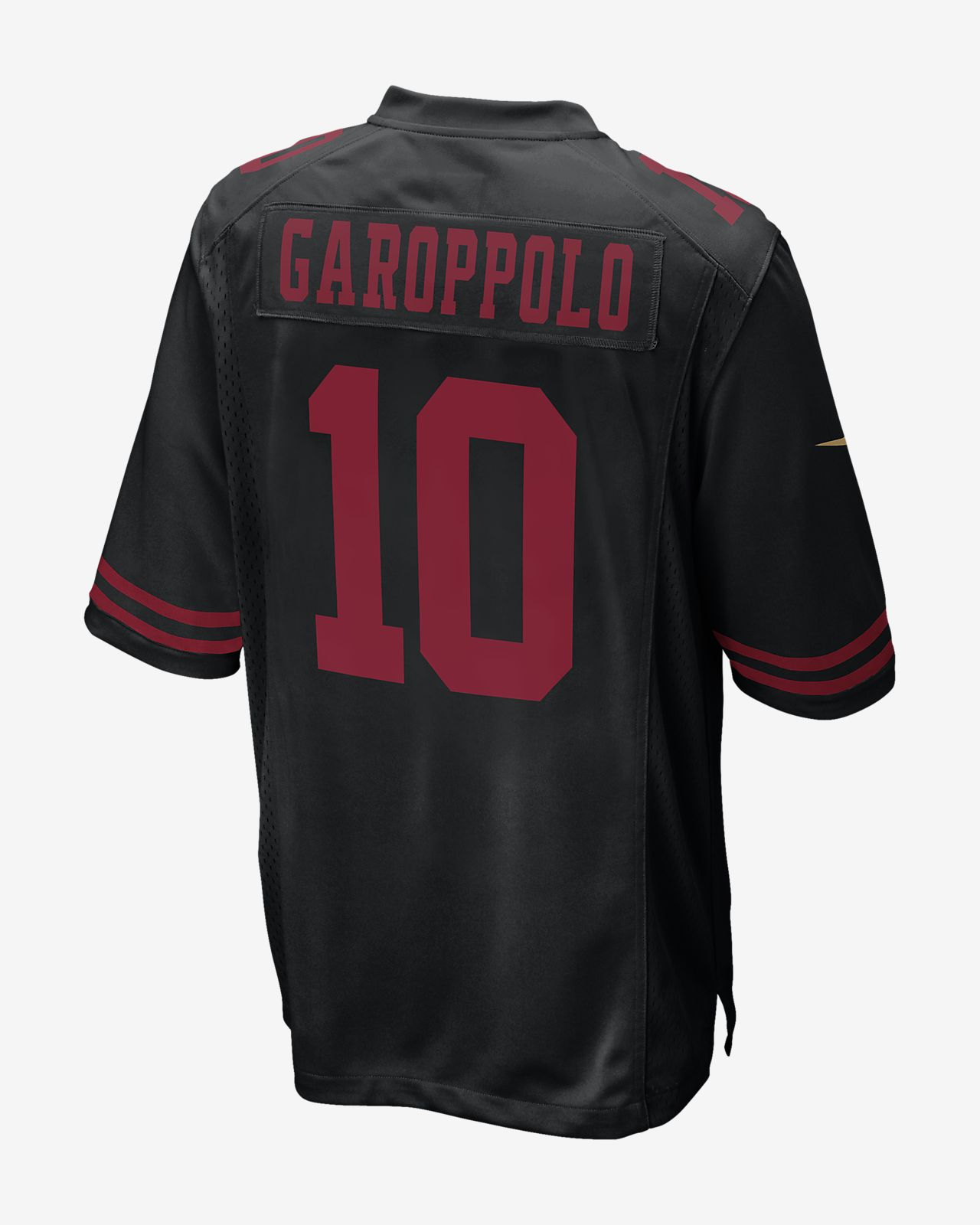 premium selection 779d4 4a8ae NFL San Francisco 49ers Game Jersey (Jimmy Garoppolo) Men's Football Jersey