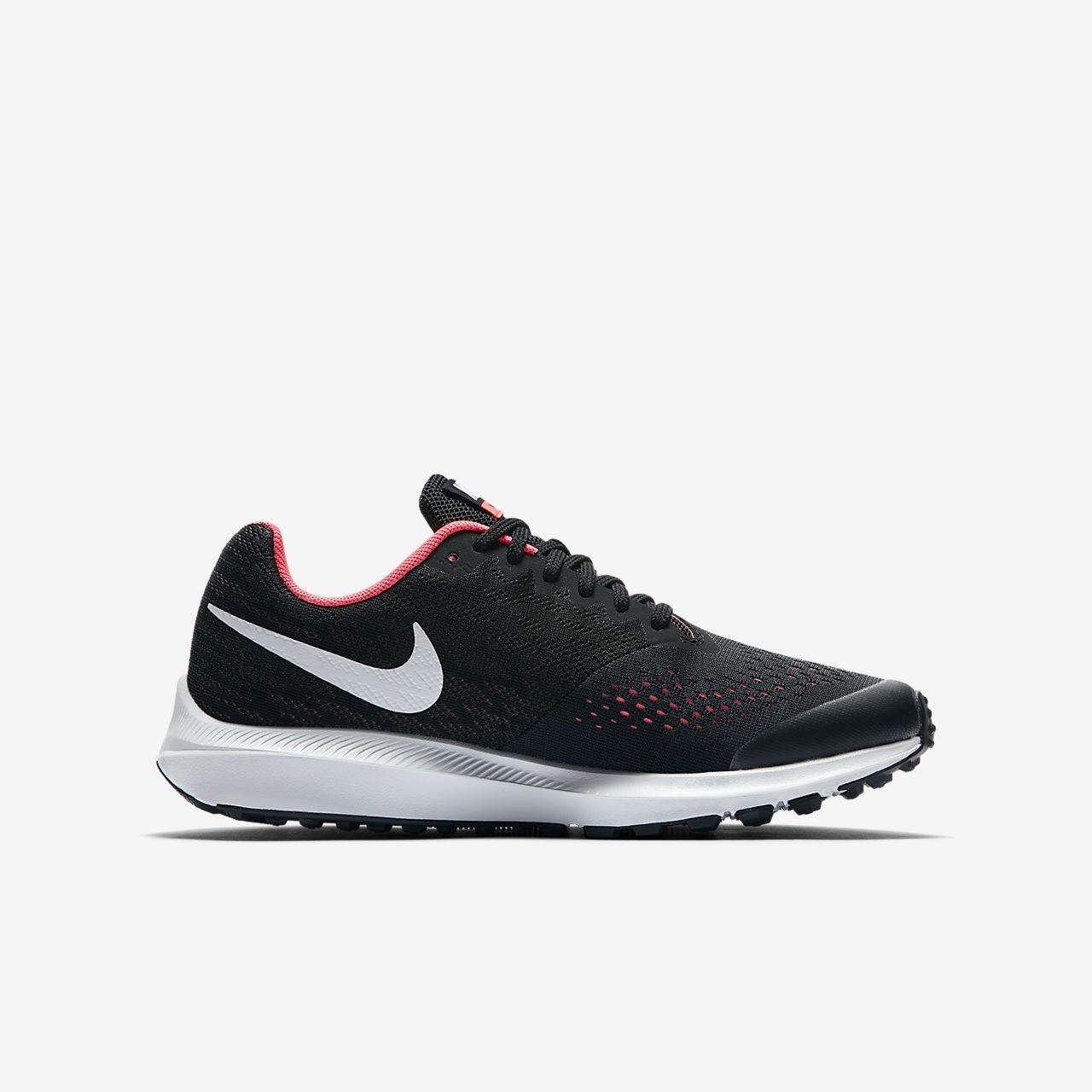 Nike Scarpa Donna Zoom Winflo 4 Black/White Compra El Envío Libre ab4NvVxS