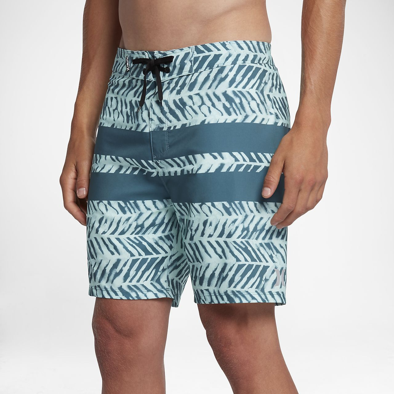 Shorts de playa de tiro de 46 cm para hombre Hurley Phantom Blackball Kai