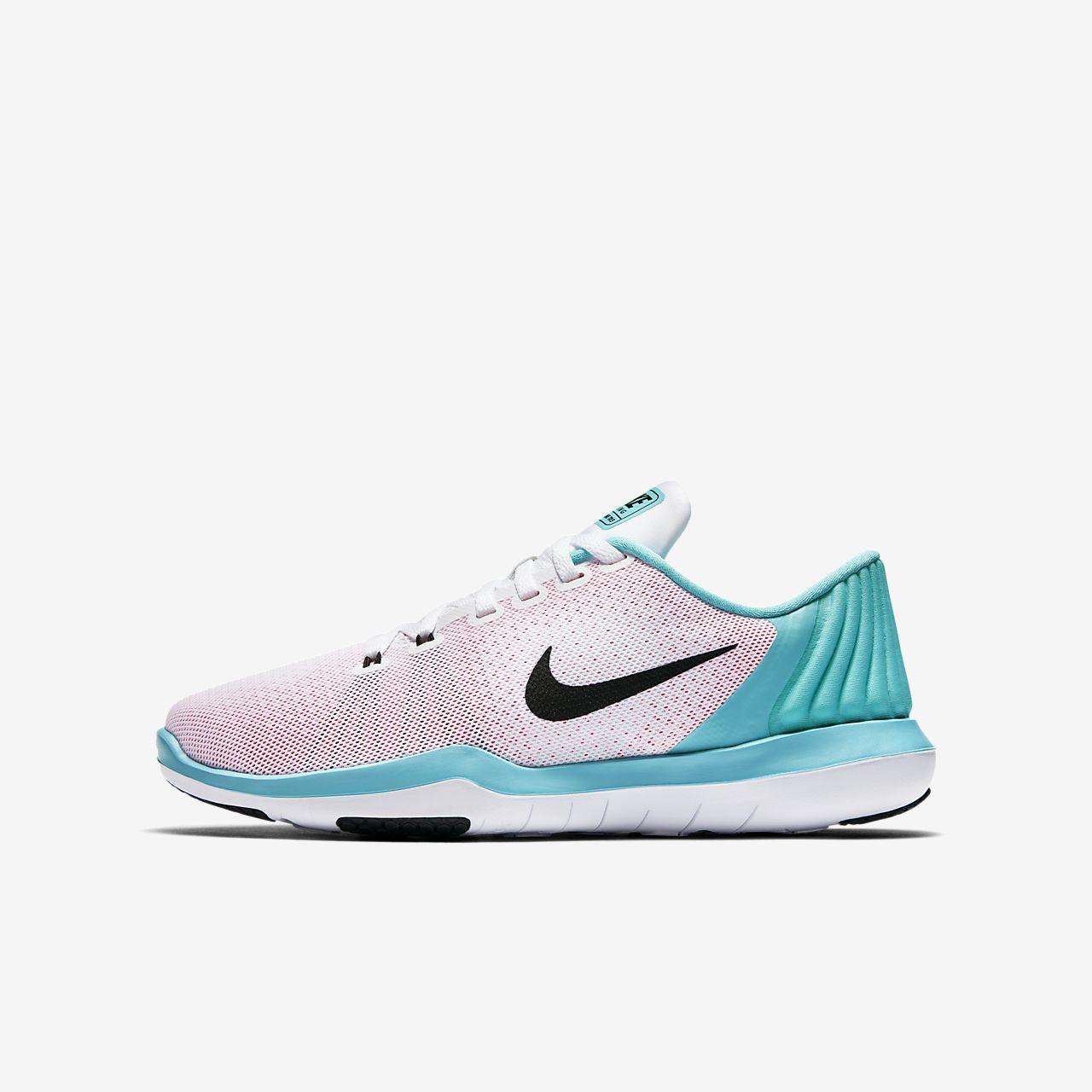 Nike Flex Supreme TR5 Scarpe da ginnastica Uomo in Nero/RosaTaglia 6