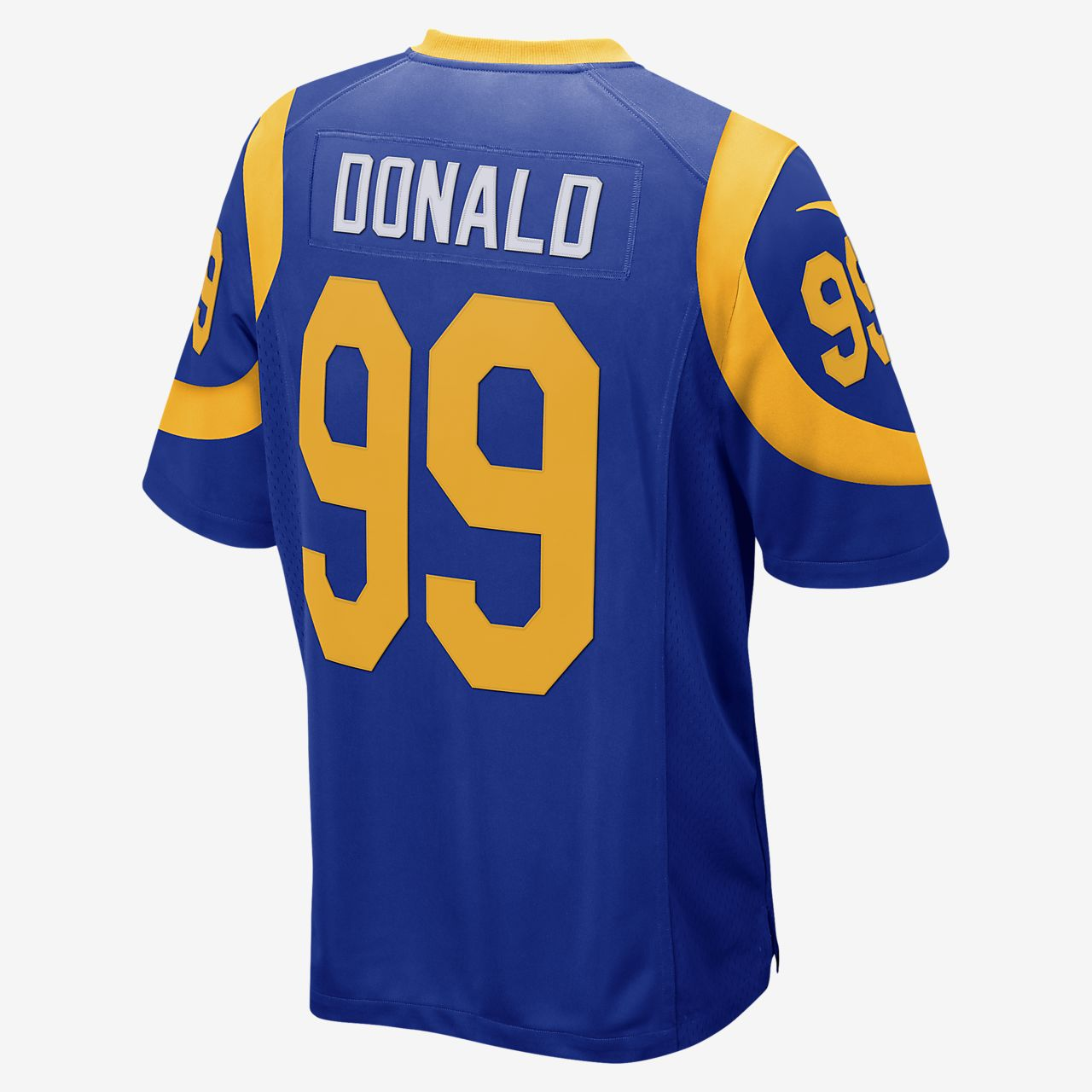 21222f897519 NFL Los Angeles Rams Game (Aaron Donald) Men s Football Jersey. Nike.com