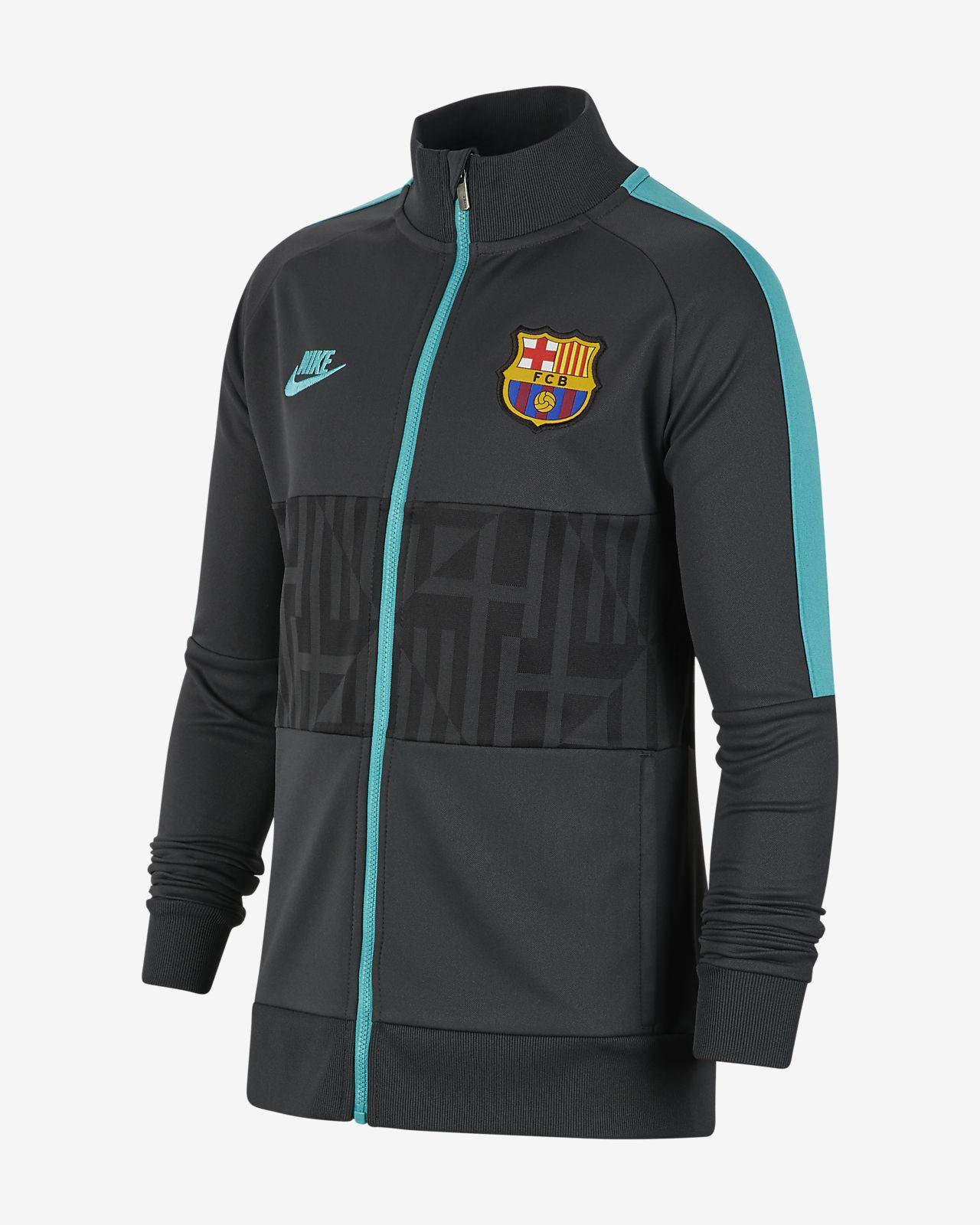 Chamarra para niños talla grande FC Barcelona