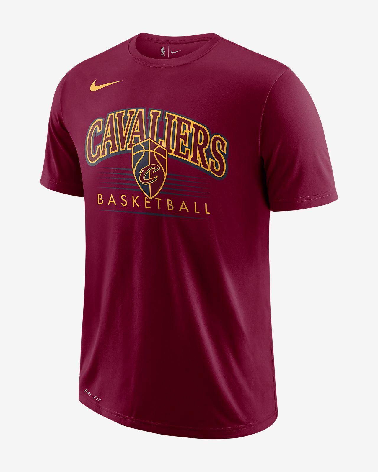 separation shoes 303bc 9a59c Cleveland Cavaliers Nike Dri-FIT Men's NBA T-Shirt