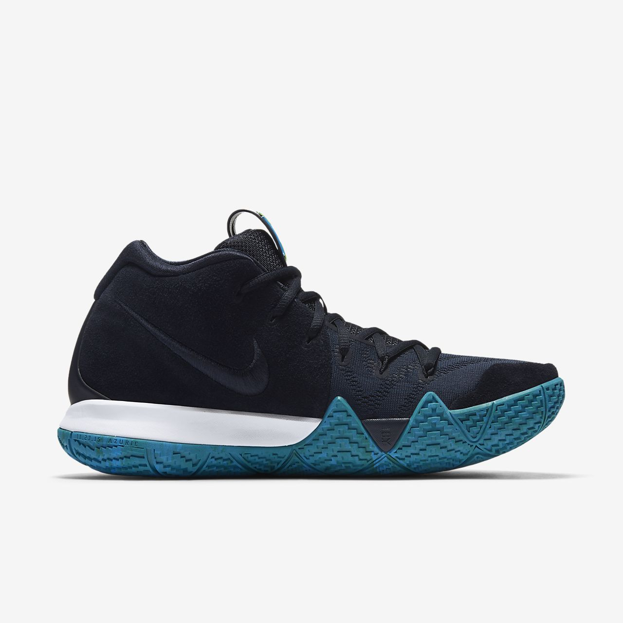 kyrie 4 mens Blue