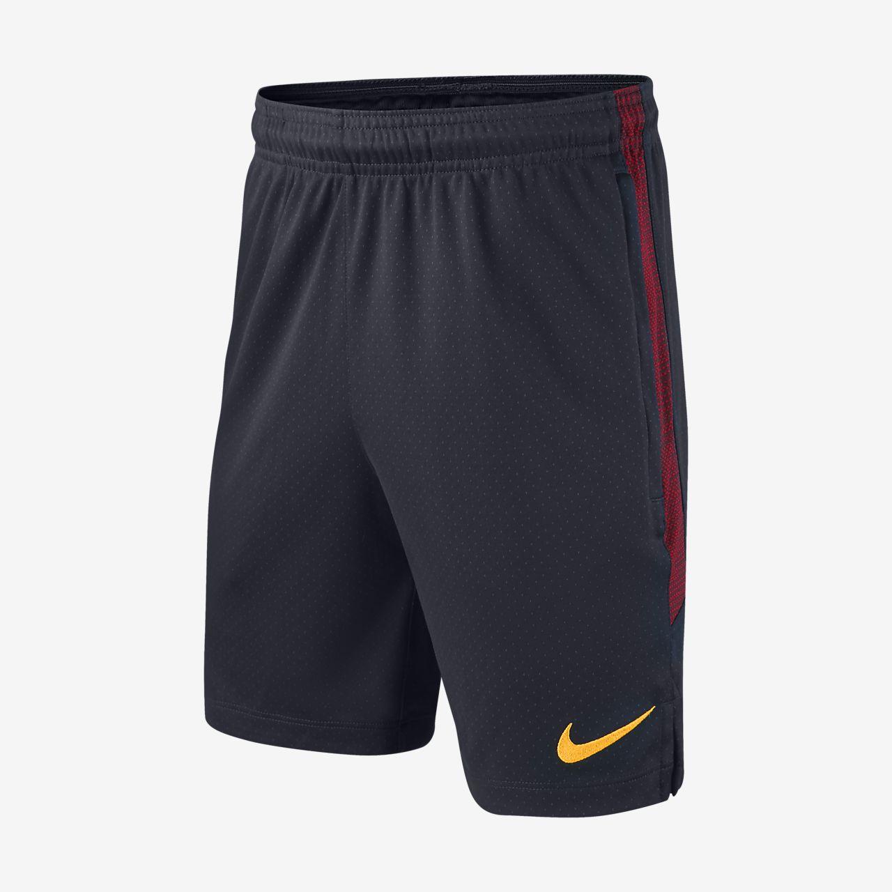 Nike Dri-FIT A.S. Roma Strike Voetbalshorts voor kids