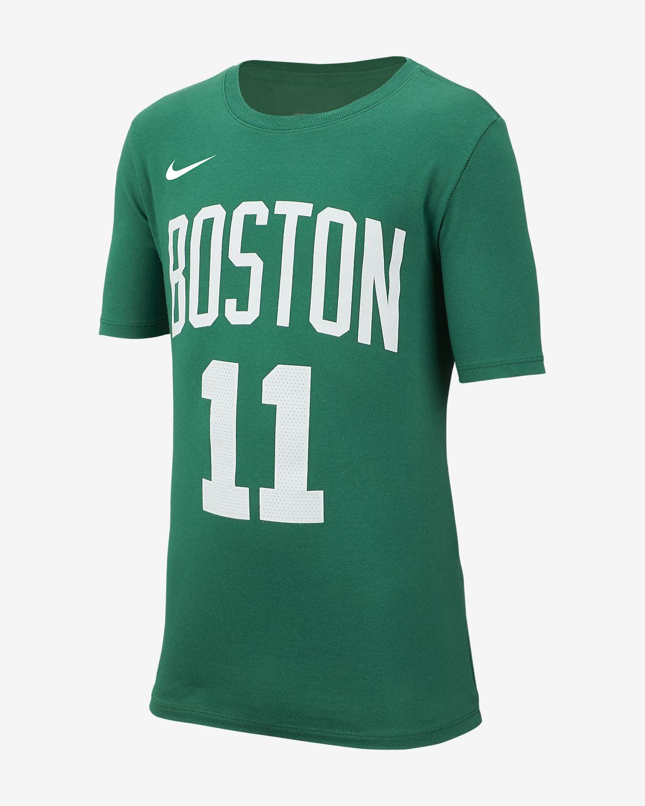 Tee-shirt de basketball Nike Icon NBA Celtics (Irving) pour Garçon plus âgé