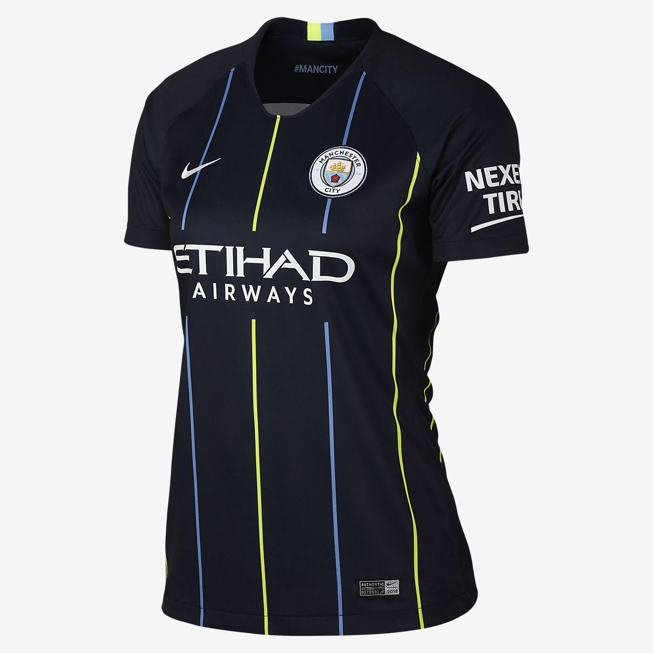 Женское футбольное джерси 2018/19 Manchester City FC Stadium Away