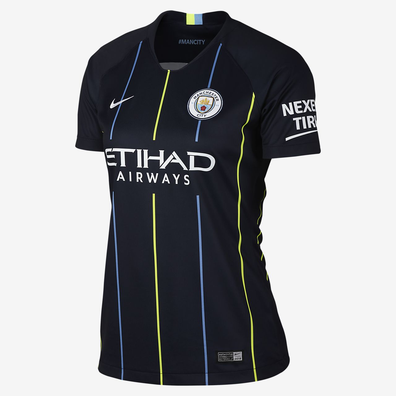 Maillot de football 2018/19 Manchester City FC Stadium Away pour Femme