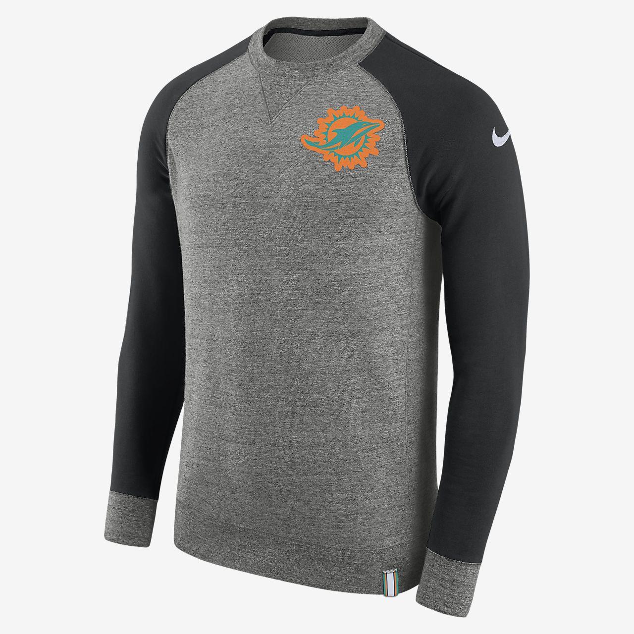 Nike AW77 (NFL Dolphins) genser for herre