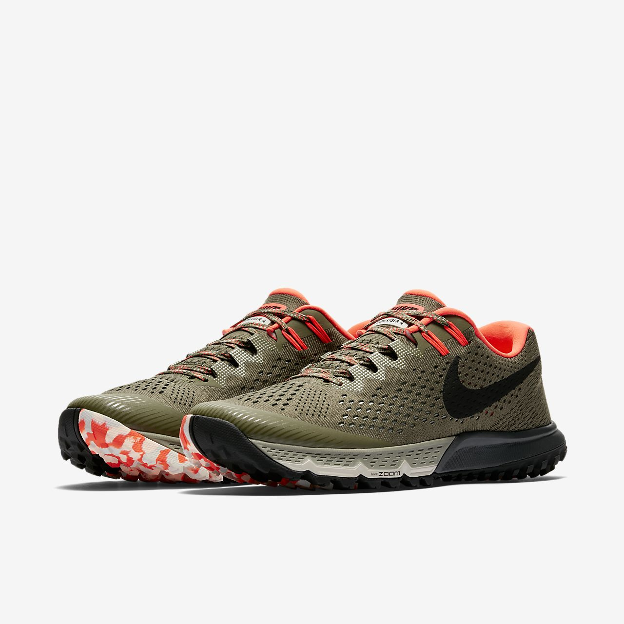 Men's Nike Air Zoom Terra Kiger 3 Size 10 Total Crimson / Black  Training Shoes