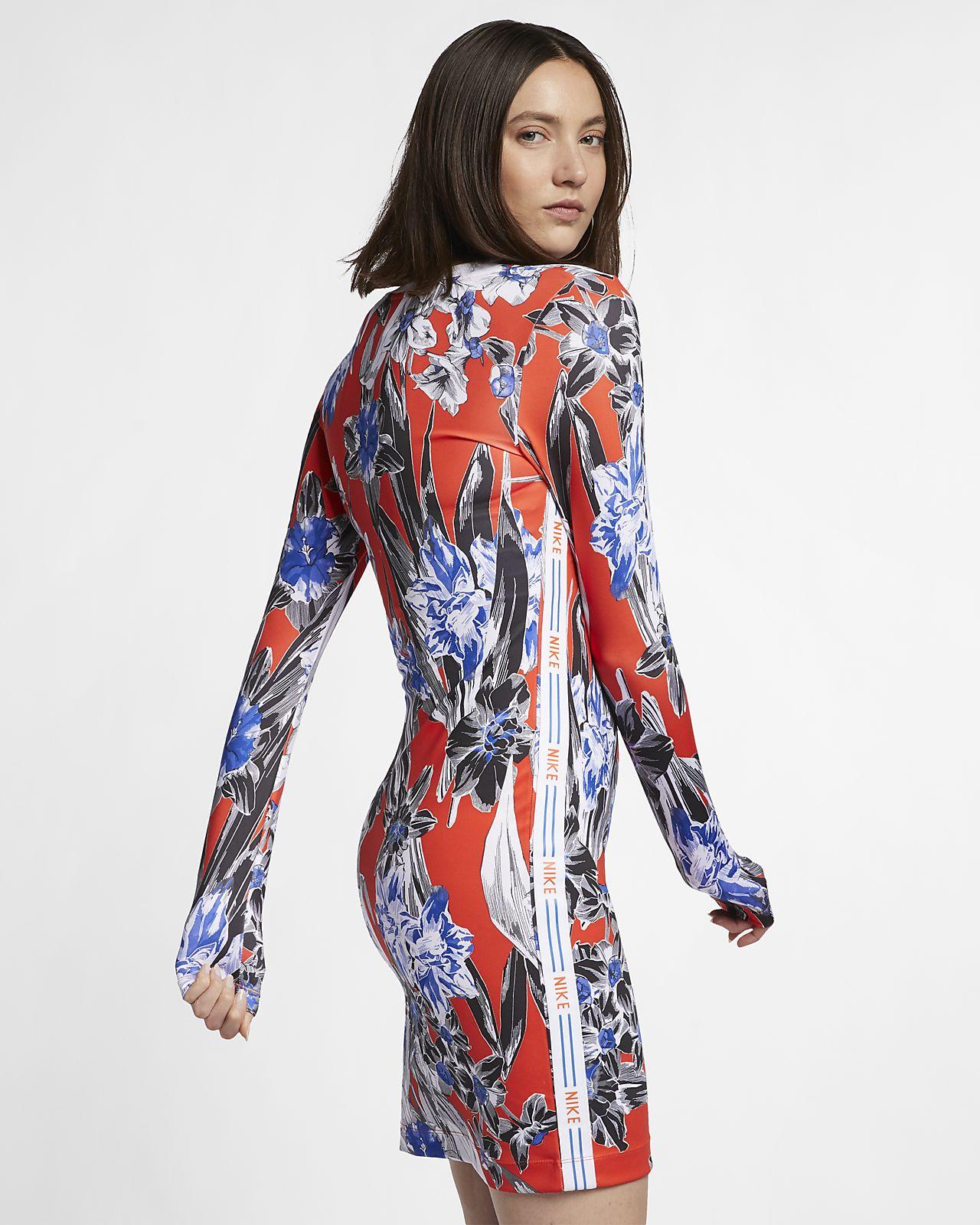 2a6ae231bdf Nike Sportswear Women s Long-Sleeve Floral Dress. Nike.com
