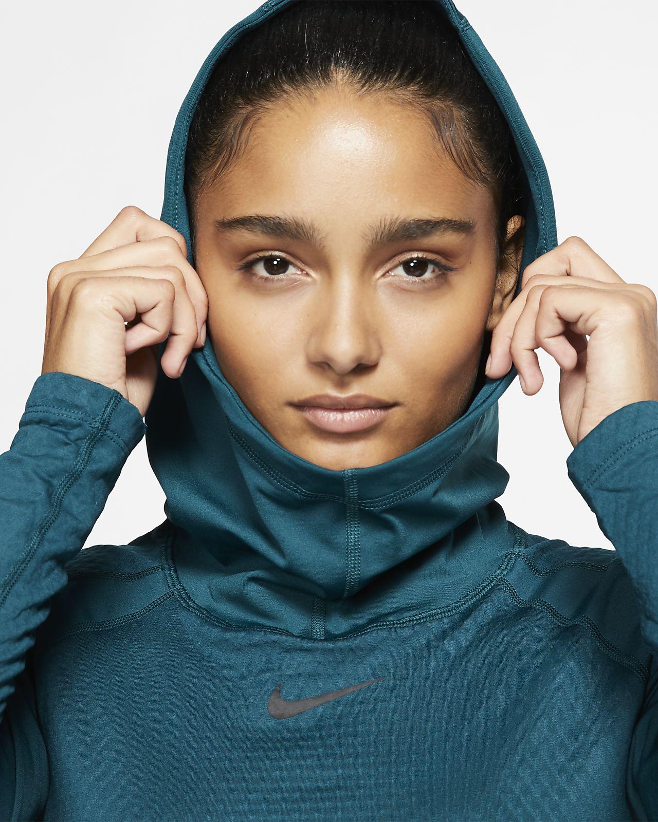 NIKE Women's Pro Hyperwarm Training Hoodie