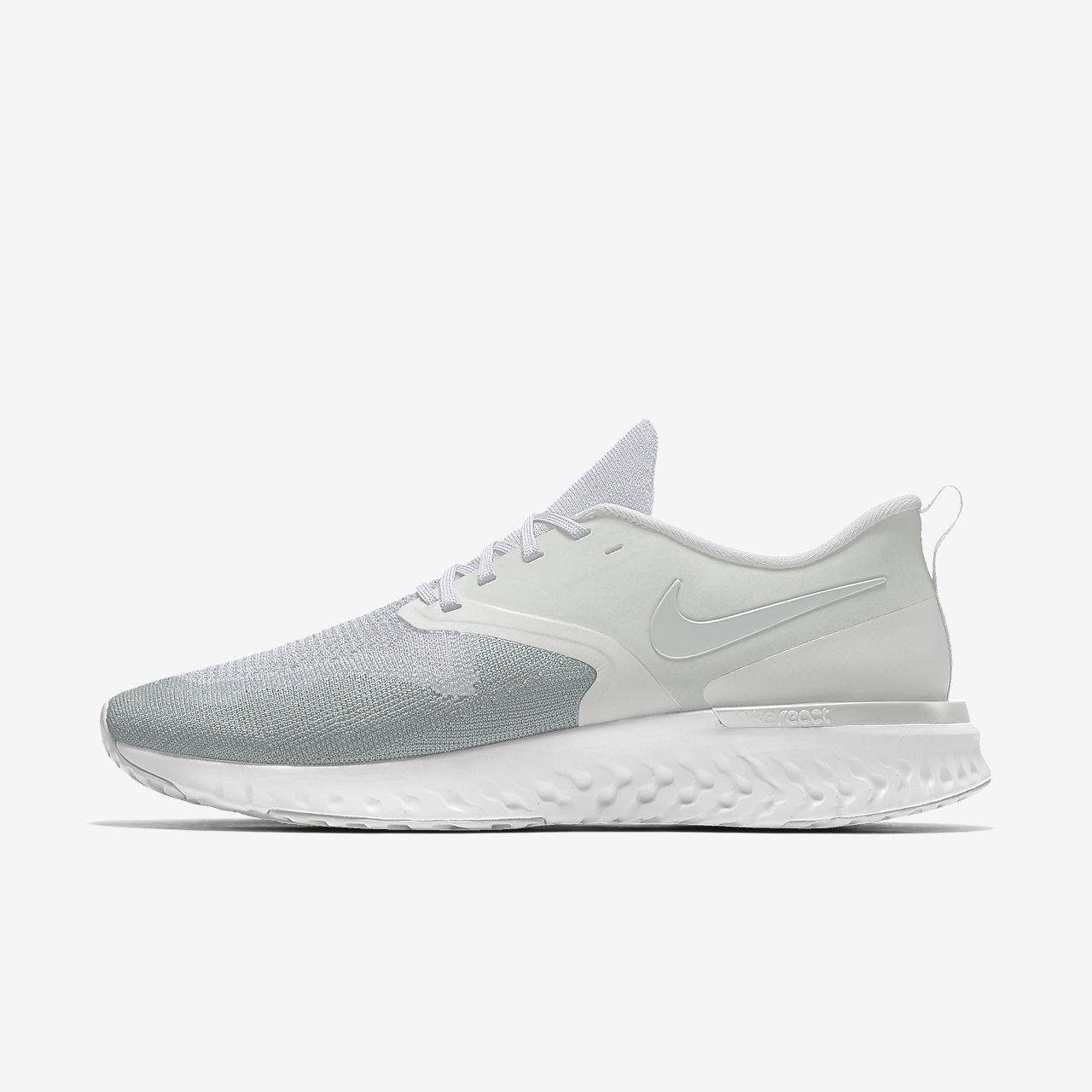 Nike Odyssey React 2 Flyknit By You Custom Men's Running Shoe