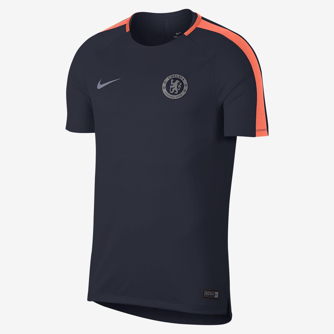 Chelsea FC Dri-FIT Squad Men's Short-Sleeve Football Top