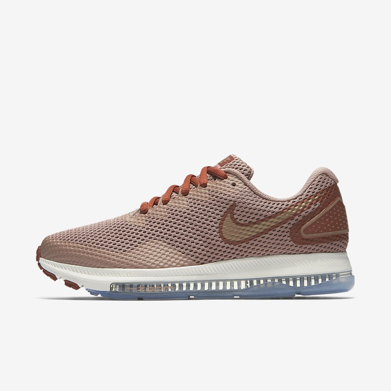 Nike Zoom All Comfortable Out Low 2 Running Dusty Peach/Metallic Red Bronze AJ0036 200