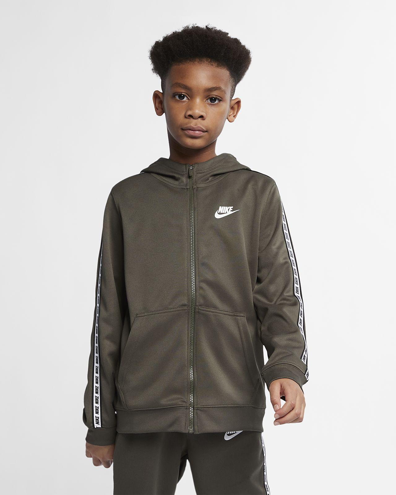 Nike Sportswear Hoodie mit durchgehendem Reißverschluss für ältere Kinder (Jungen)