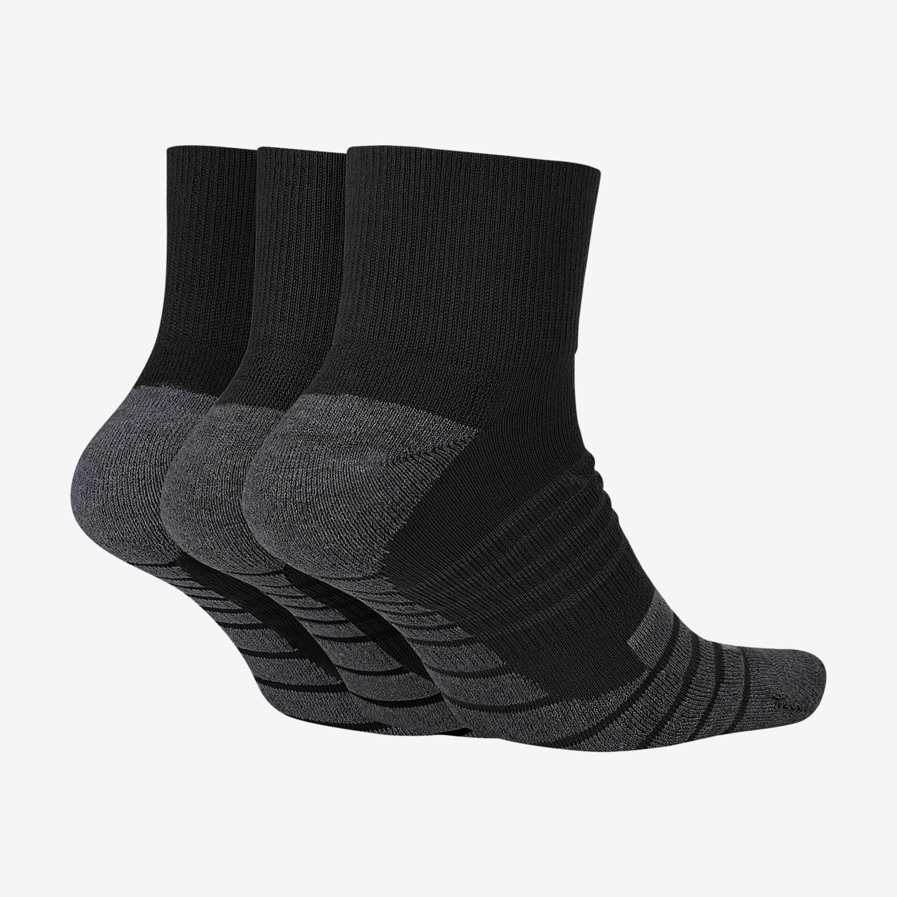 Men's Low Cut Cushioned Extended Size Socks, 6 Pack