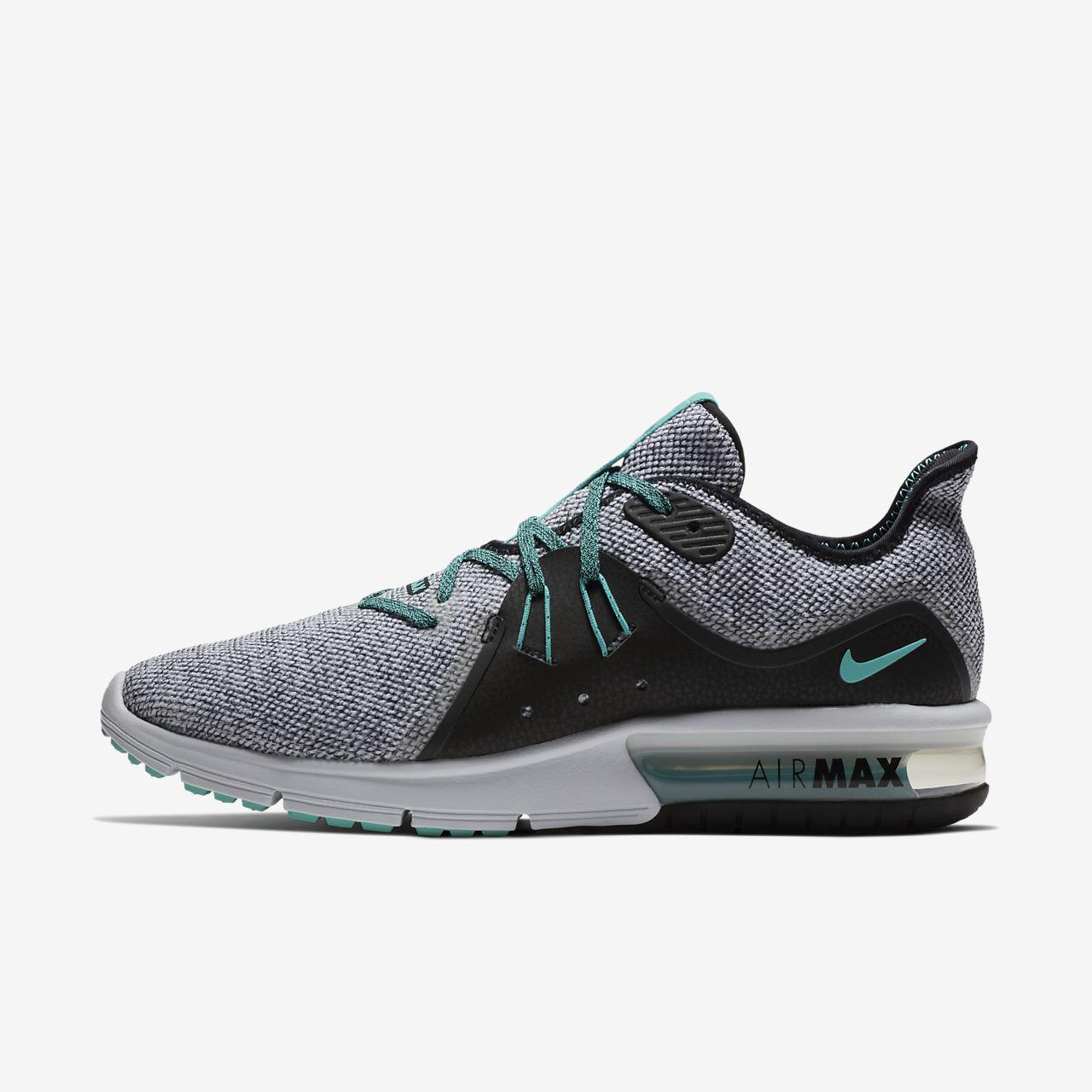 Nike Chaussure de running femme Air Max Sequent 2 Gris anthracite - Livraison Gratuite avec  - Chaussures Chaussures-de-running Femme
