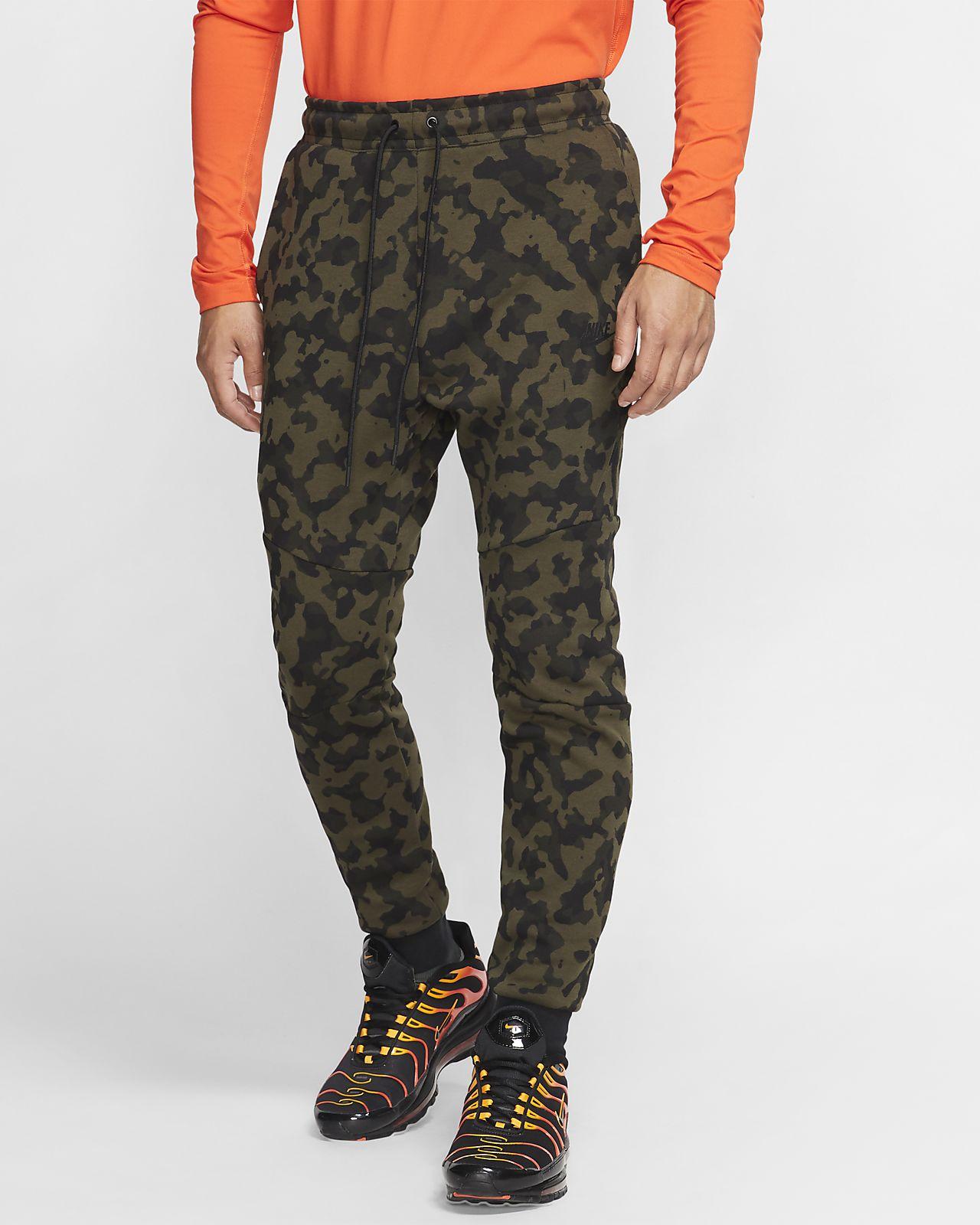 Pantalones de entrenamiento estampados para hombre Nike Sportswear Tech Fleece
