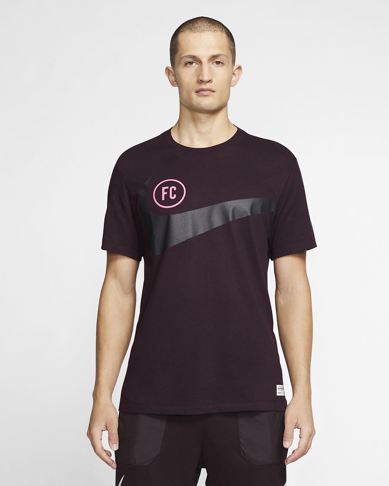 T-shirt de futebol Nike F.C. Dri-FIT para homem