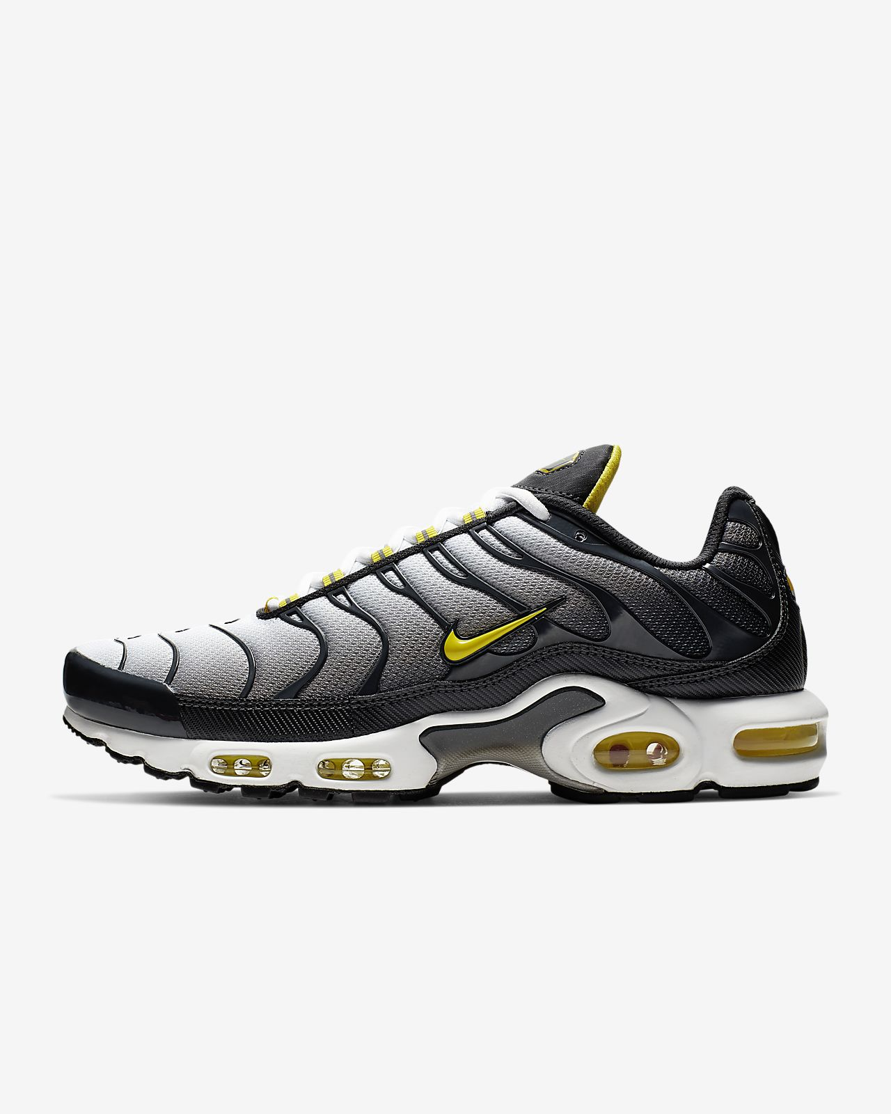 US $69.0 50% OFF|Original Nike Air Max Plus Tn Ultra Men's Running Shoes, Wear resistant Shock absorbing Breathable Non slip 815994 100 in Running
