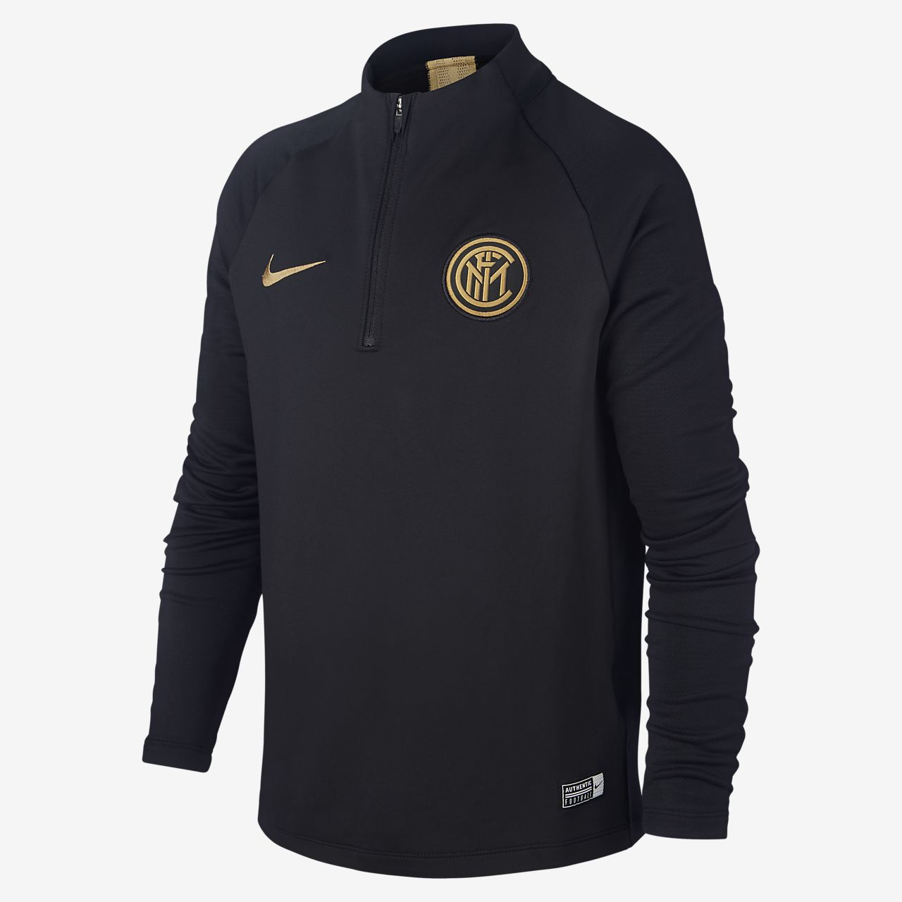 Nike Dri-FIT Inter Milan Strike Older Kids' Football Drill Top