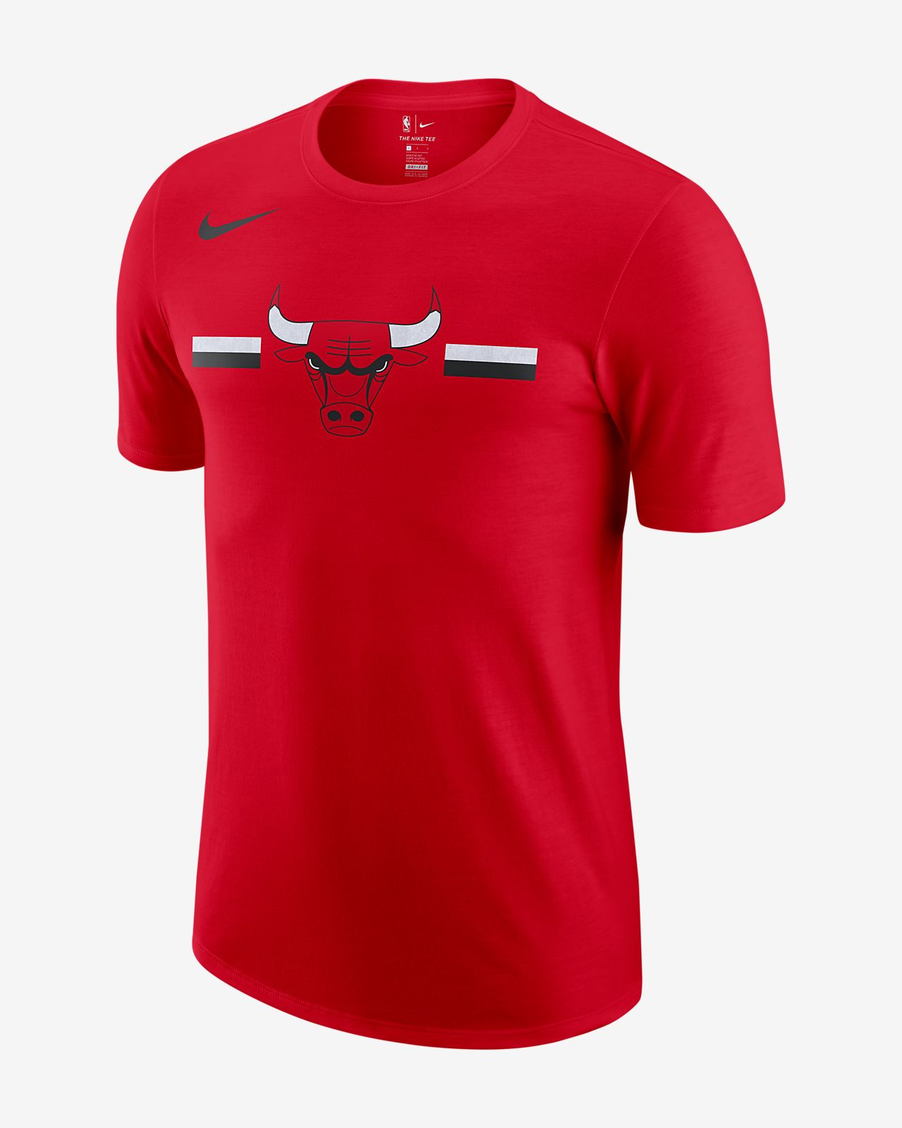 Modish Chicago Bulls Nike Dri-FIT Men's NBA T-Shirt. Nike.com IN OX62