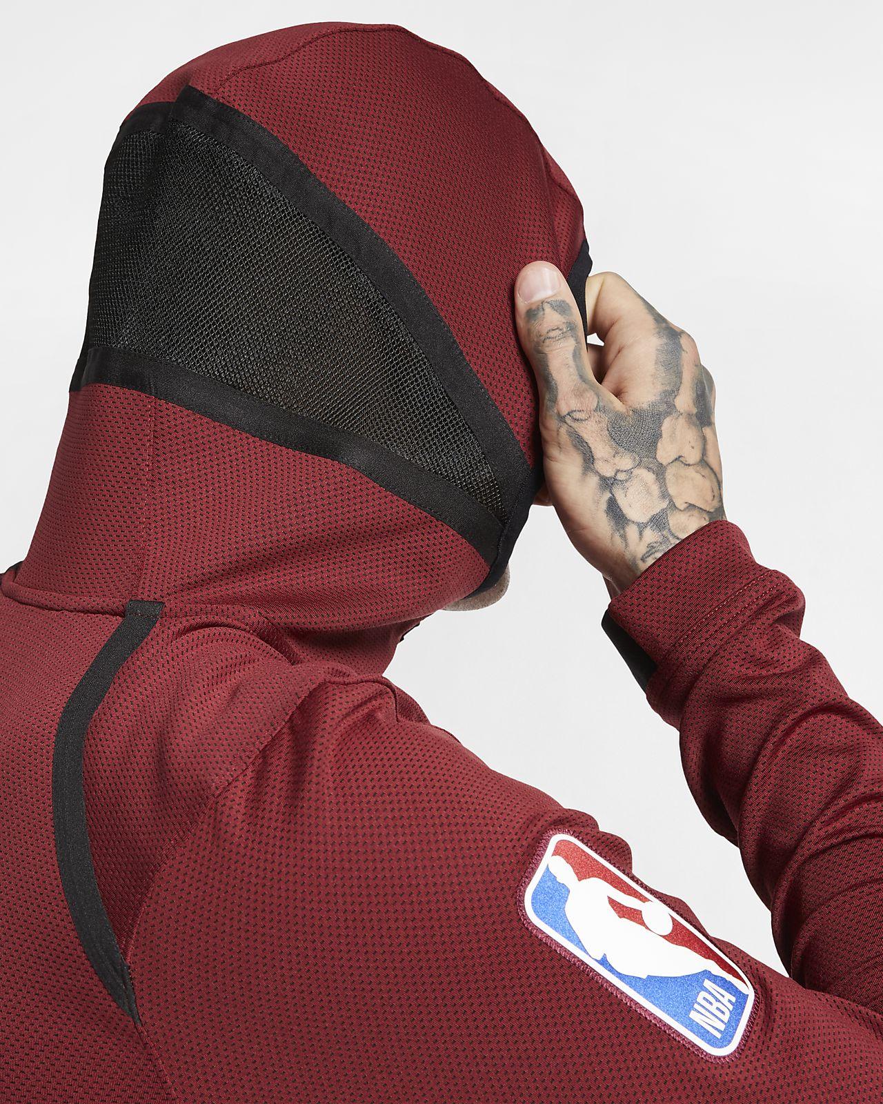 Cleveland Cavaliers Nike Therma Flex Showtime NBA Hoodie für Herren