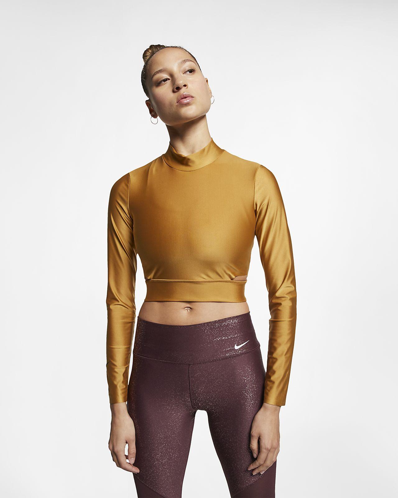 Nike Women's Long-Sleeve Training Top
