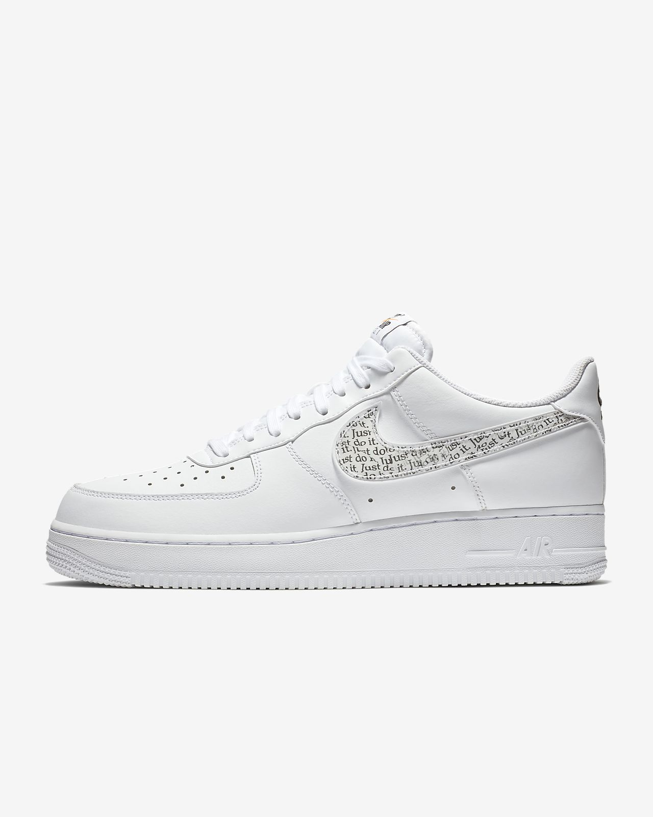 nike air force 1 just do it alte