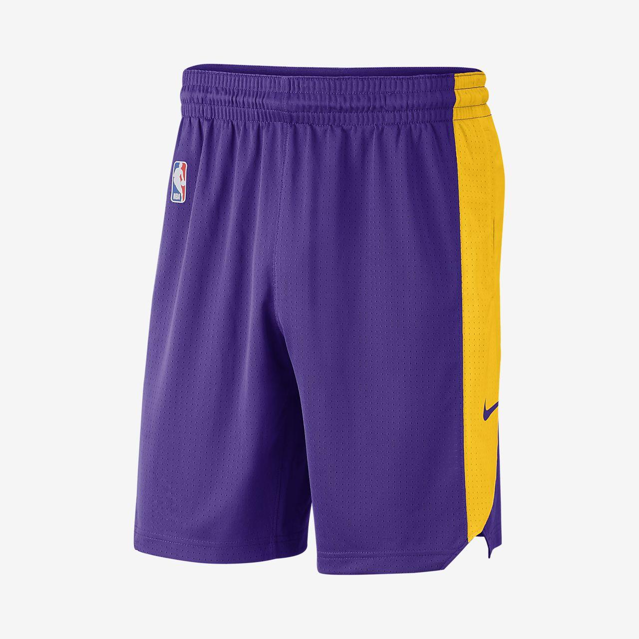 Pánské kraťasy NBA Los Angeles Lakers Nike. Nike.com CZ f0461a6951