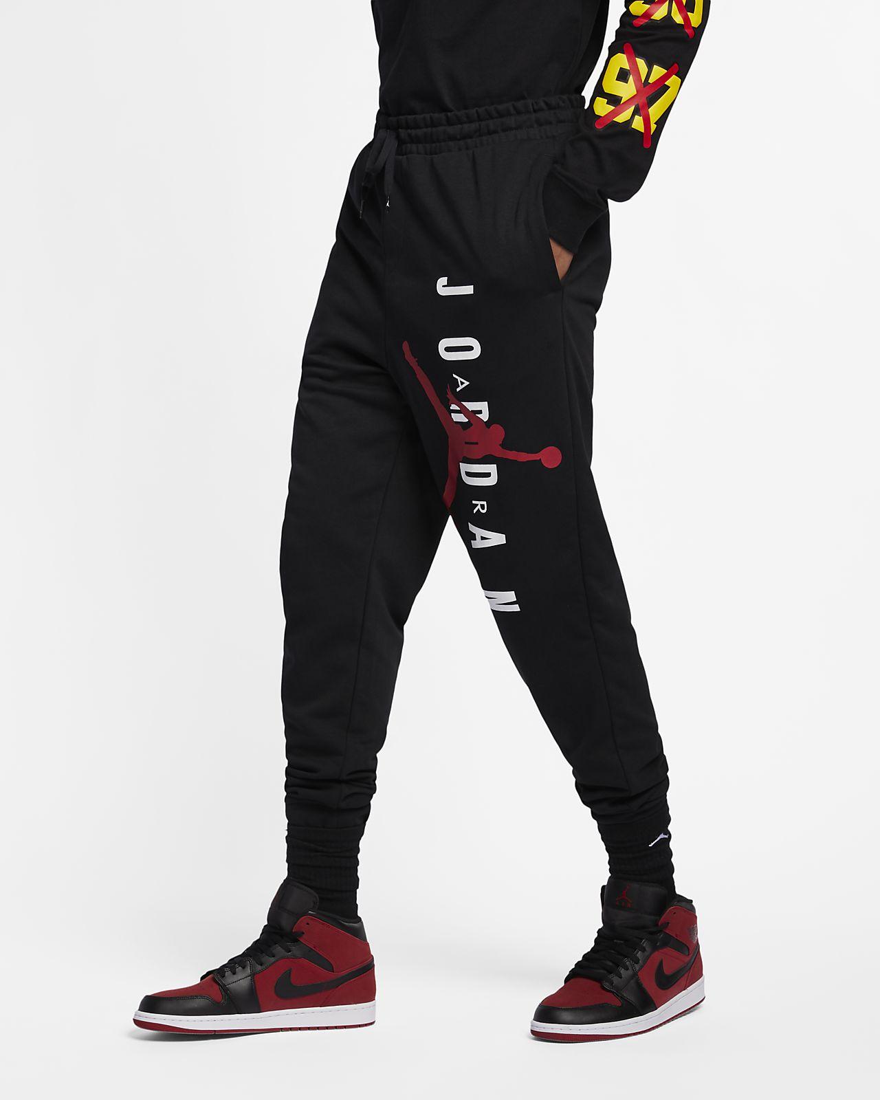 Lehké pánské flísové kalhoty Jordan Jumpman Air. Nike.com CZ be112e7bd5