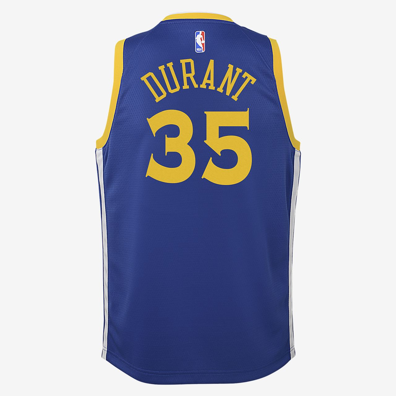 6b2288cc4105 ... Kevin Durant Golden State Warriors Nike Icon Edition Swingman Big Kids  NBA  Jersey