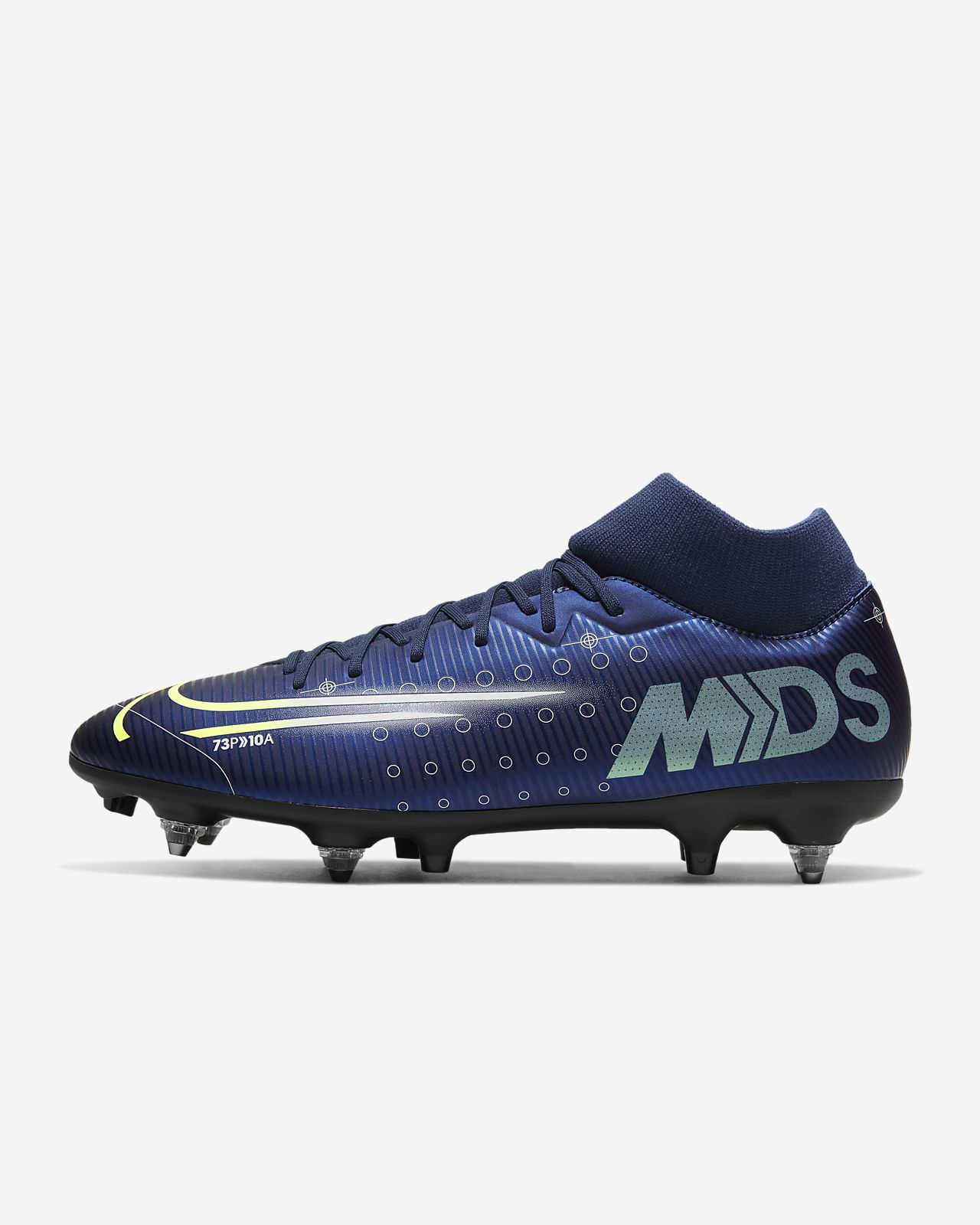 lowest price great deals great look Chaussure de football à crampons pour terrain gras Nike Mercurial Superfly  7 Academy MDS SG-PRO Anti-Clog Traction