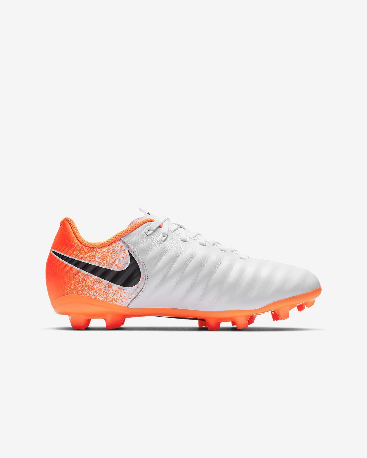 new arrivals ec8cc fce3b ... Fotbollssko för gräs Nike Jr. Legend 7 Academy FG för barn ungdom