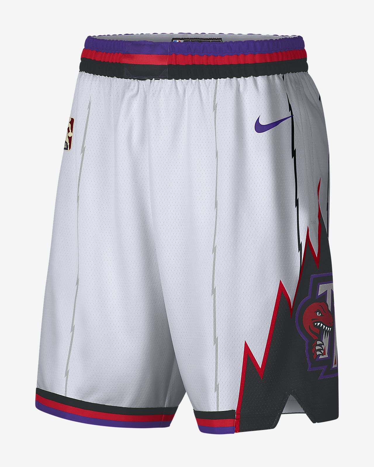 Short Nike NBA Toronto Raptors Classic Edition Swingman pour Homme