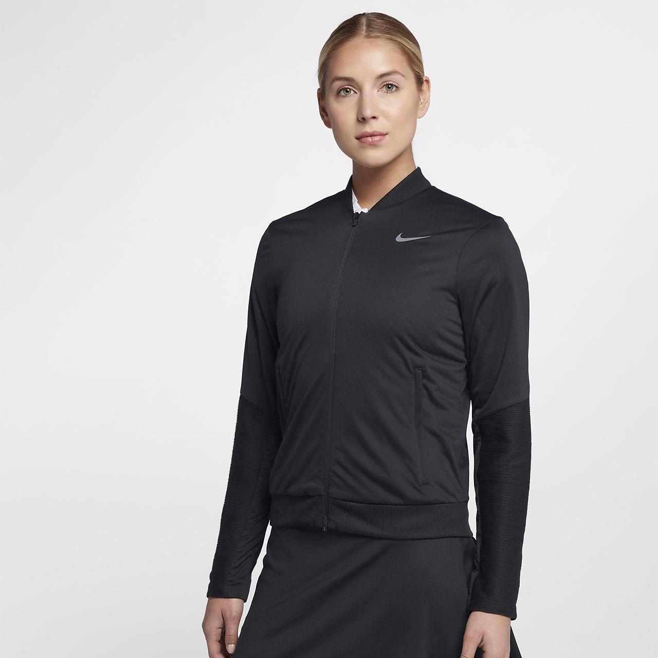 Womens Nike Aerolayer Black Golf Vest