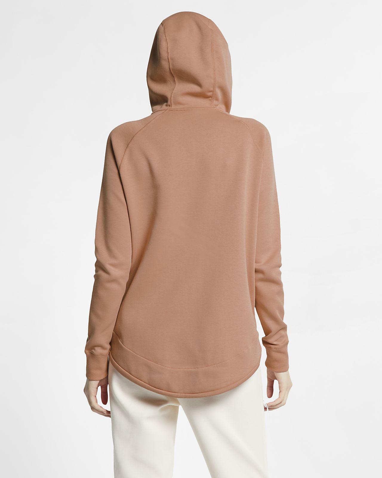 9540623451 Nike Sportswear Tech Fleece hosszú cipzáras női pulóver. Nike.com HU