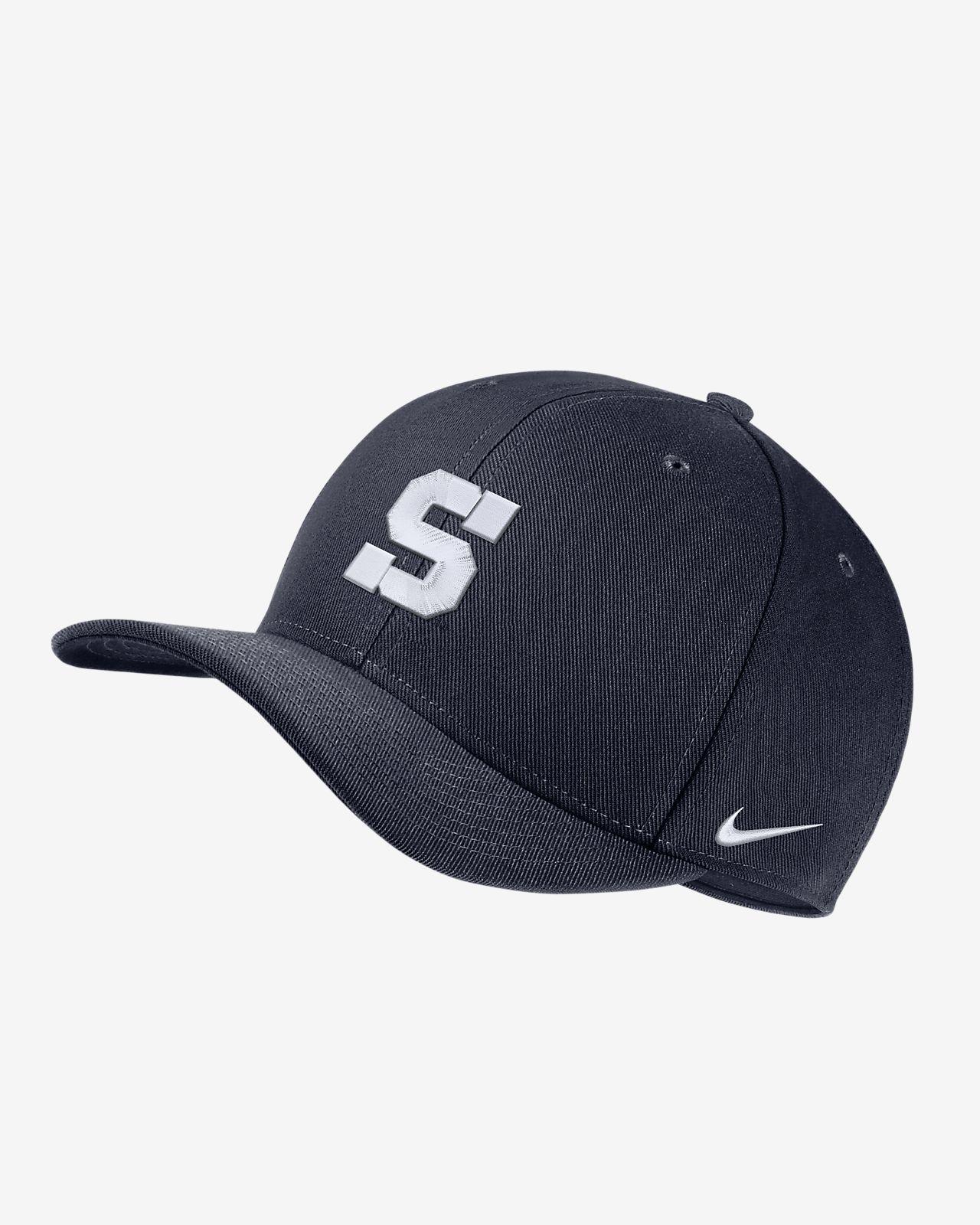 Nike College Dri-FIT Classic99 Swoosh Flex (Penn State) Fitted Hat ... eb1a44eb1c9