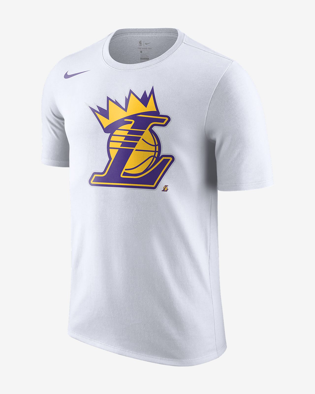 6ebb0350ced Los Angeles Lakers Crown Men s NBA T-Shirt. Nike.com