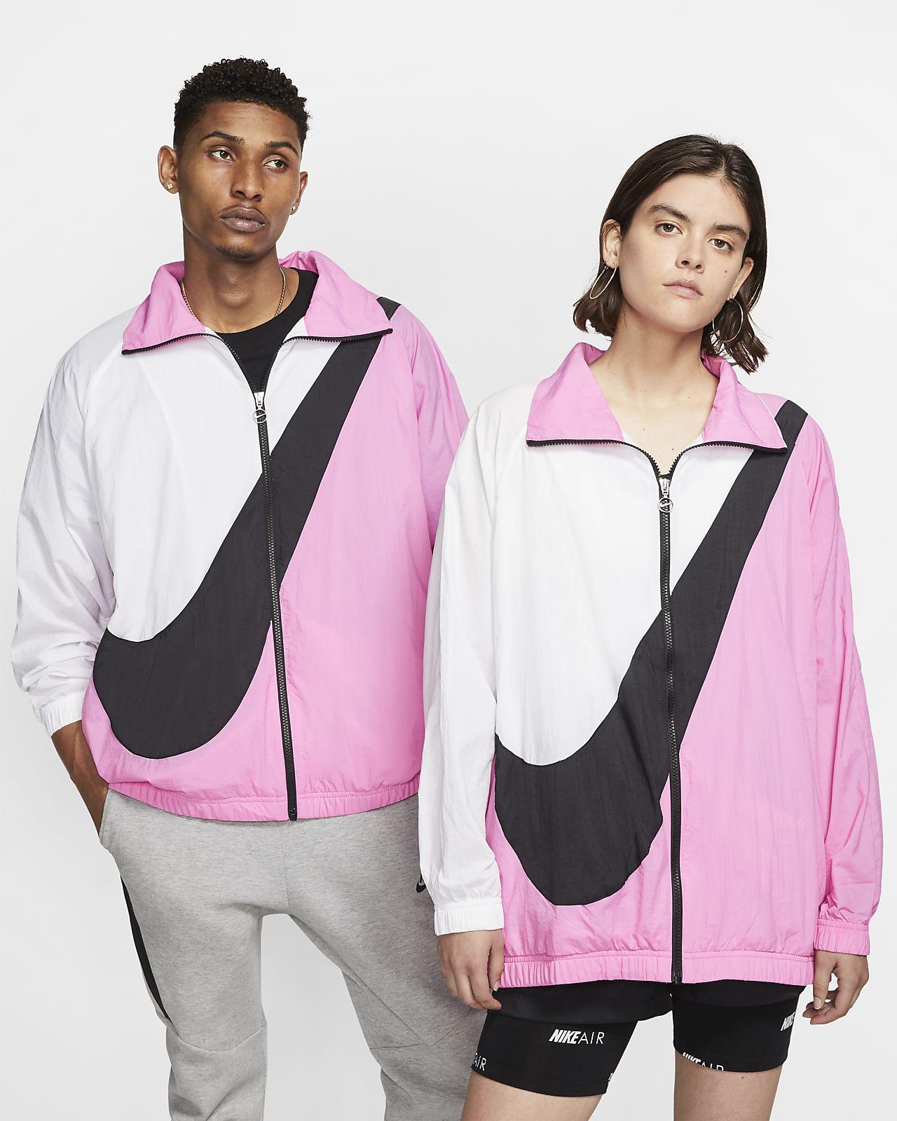 Jacka i vävt material med Swoosh-logga Nike Sportswear