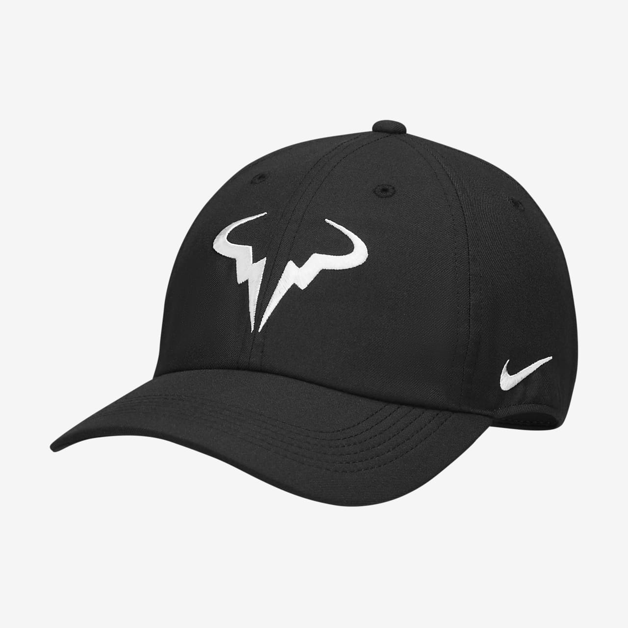 713c49443a27b NikeCourt AeroBill Rafa H86 Adjustable Tennis Hat. Nike.com GB