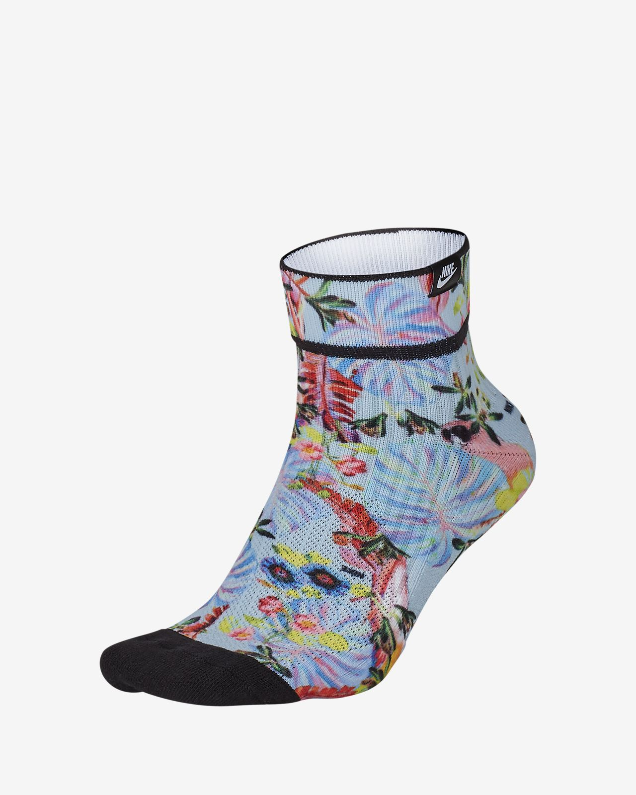 Nike SNEAKR Sox Floral Ankle Socks