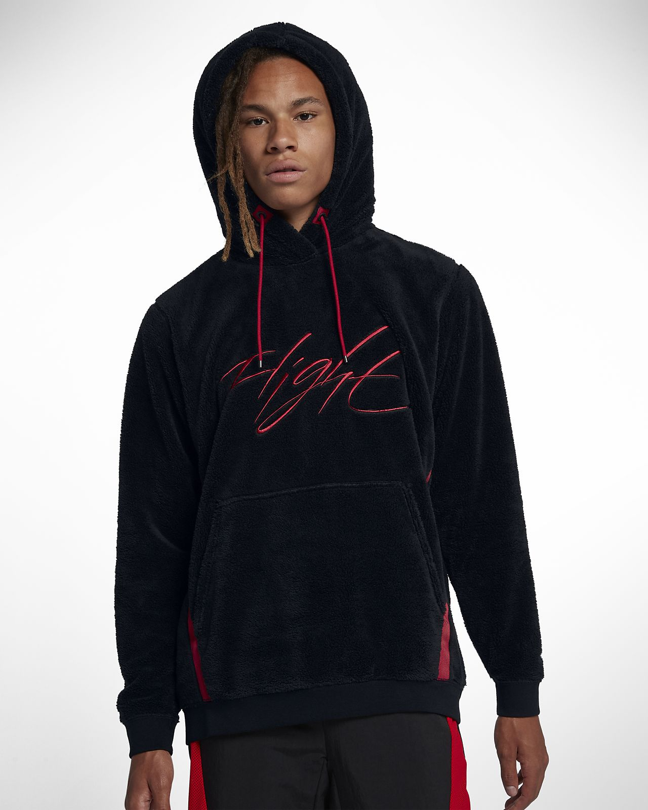 a3bfc8d5432830 Jordan Sportswear Wings of Flight Men s Sherpa Pullover Hoodie. Nike.com