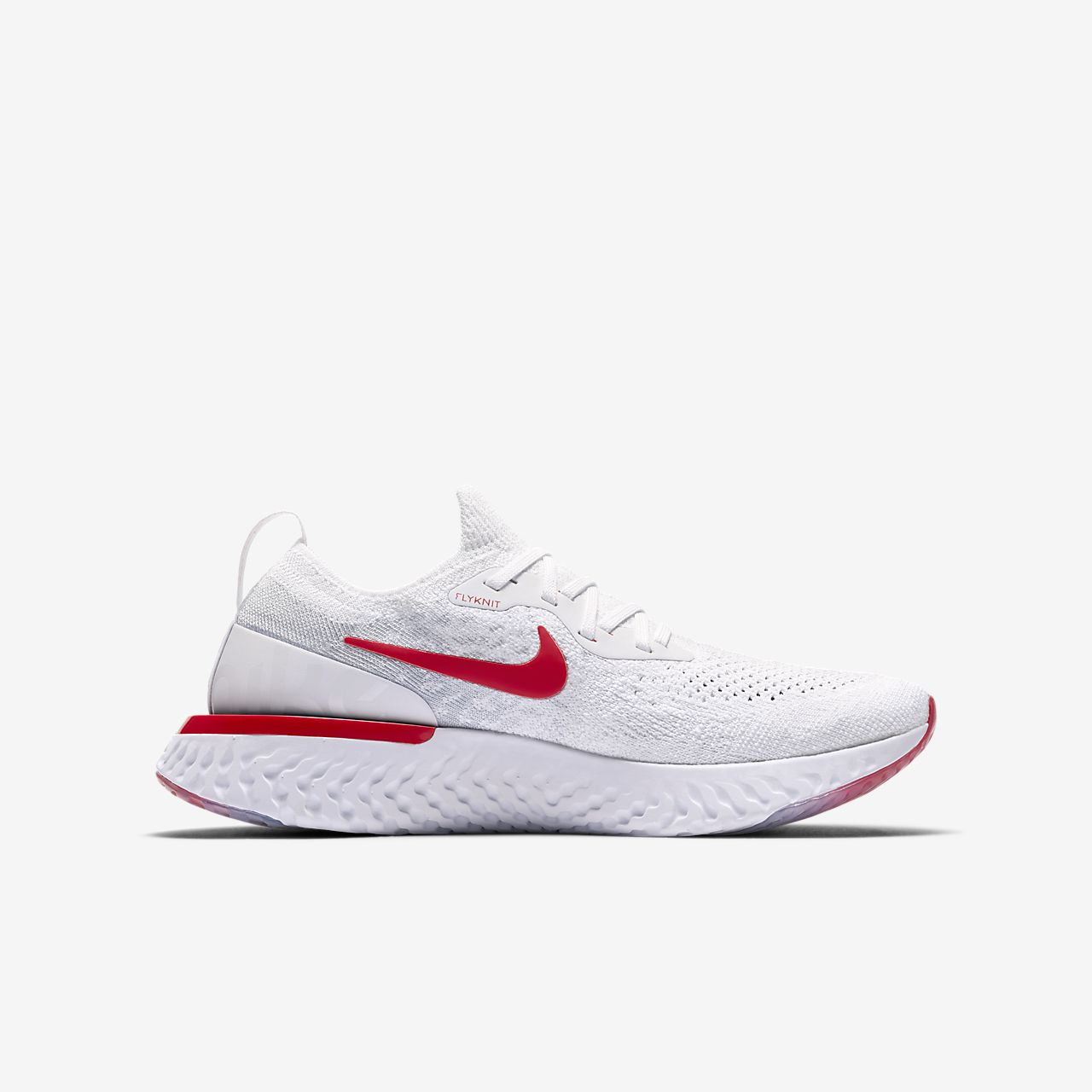 ... Nike Epic React Flyknit Big Kids' Running Shoe
