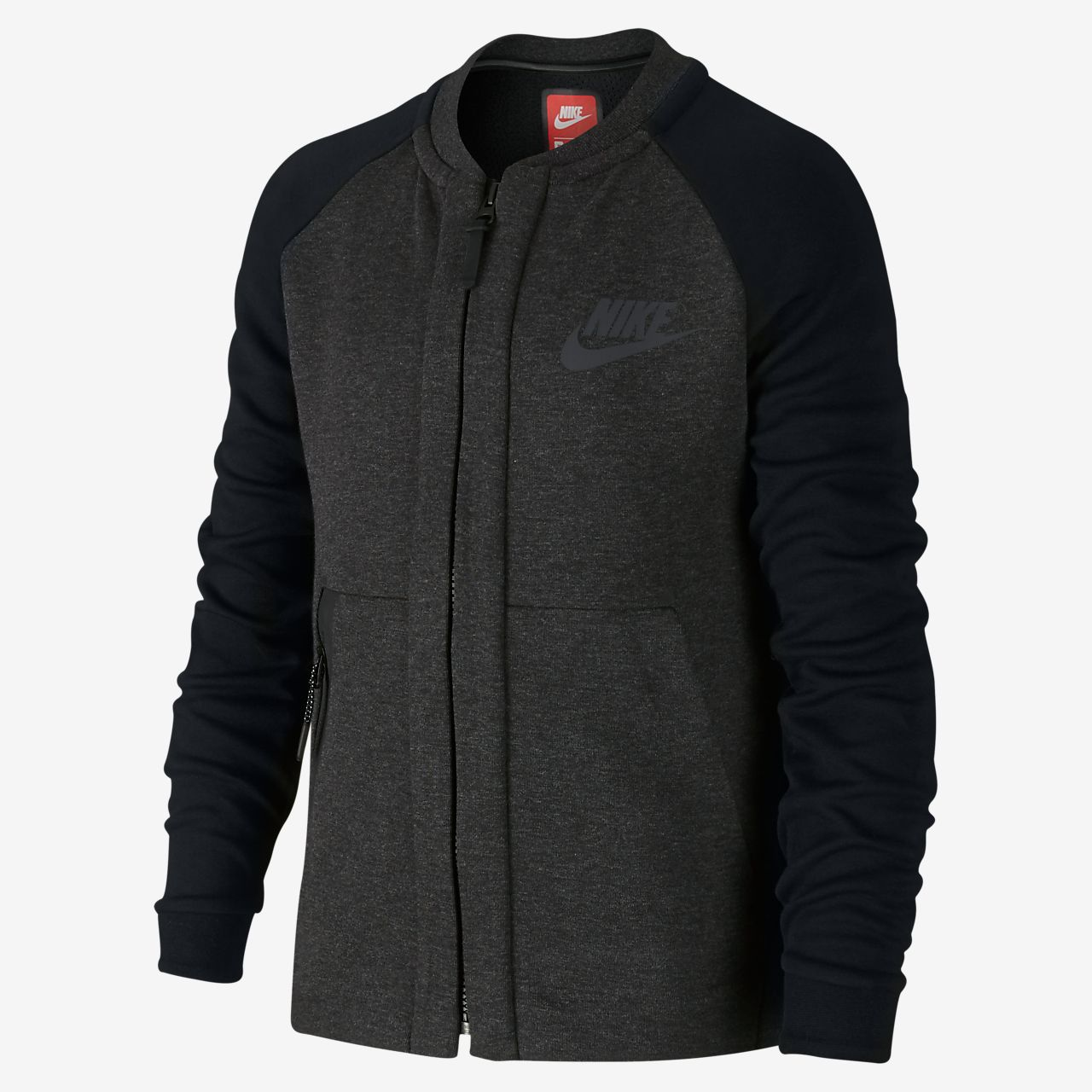 Nike Sportswear Tech Fleece Bomber Older Kids' (Boys') Jacket