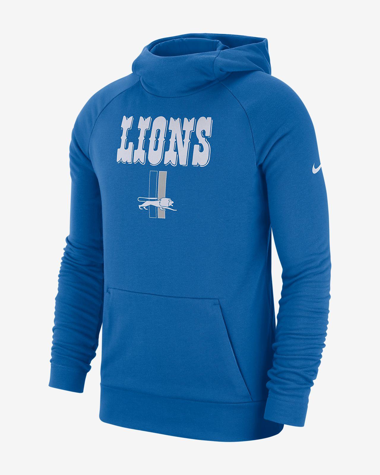 Nike Dri-FIT (NFL Lions) Men s Pullover Hoodie. Nike.com 4b3fa7723