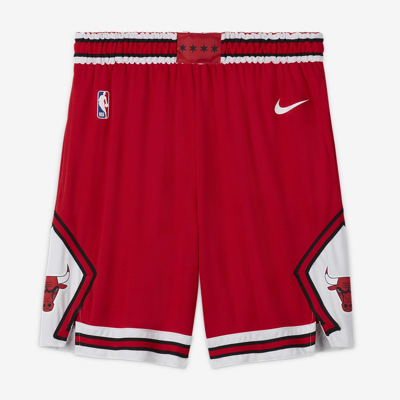 Shorts Nike de la NBA para hombre Chicago Bulls Icon Edition Swingman