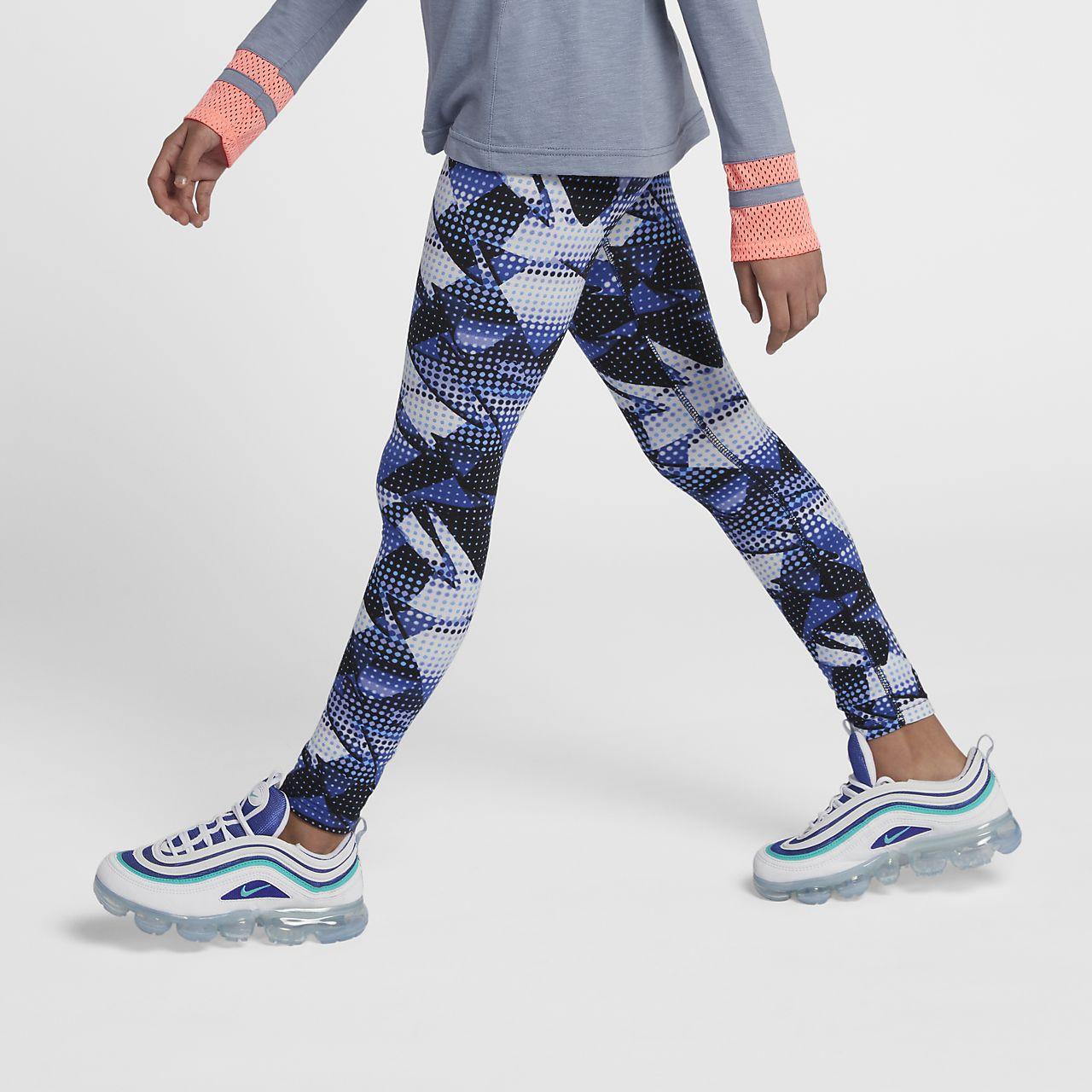Leggings estampados para niña talla grande Nike Sportswear