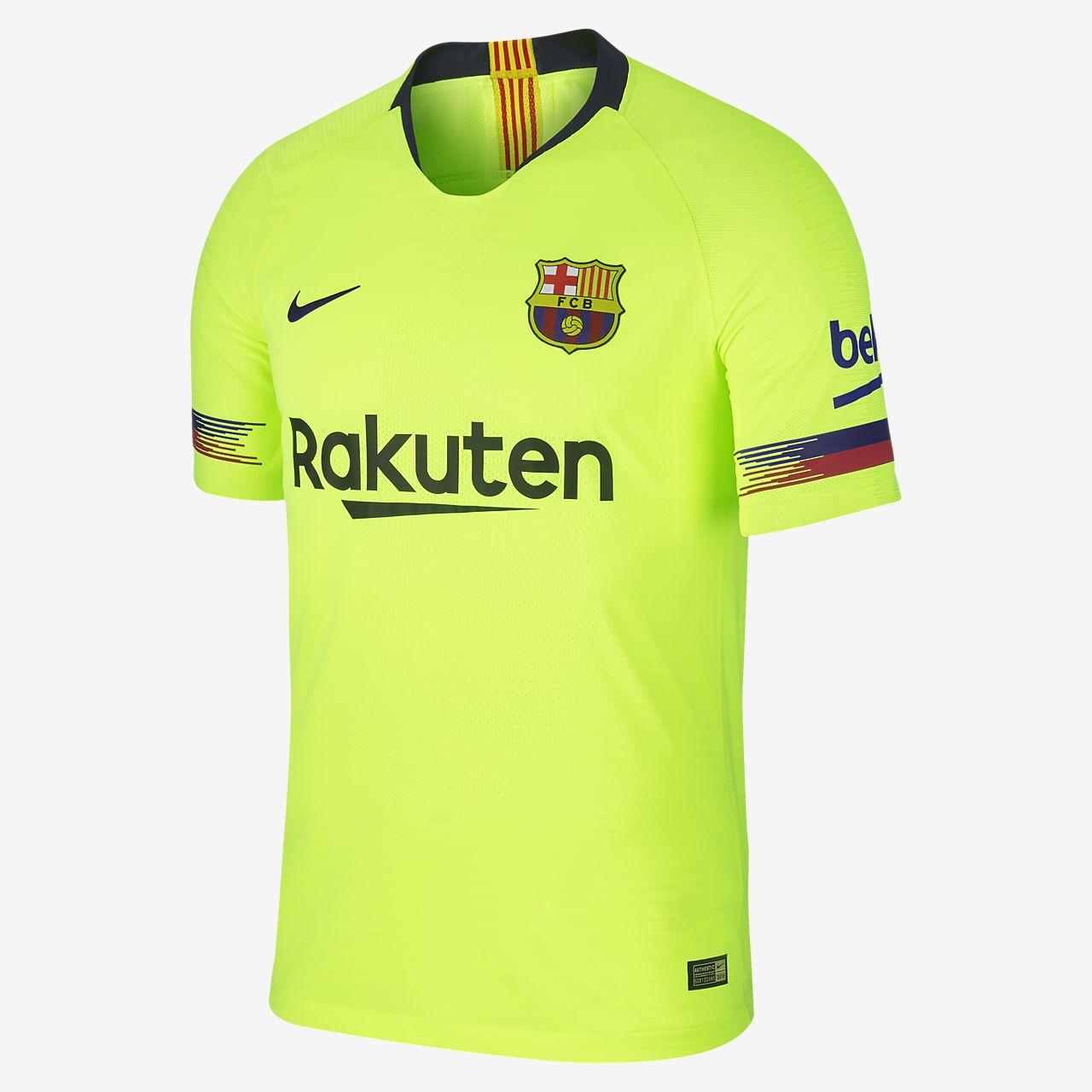 hot sale online 6241b 8d3bd Camiseta de fútbol para hombre 2018 19 FC Barcelona Vapor Match Away